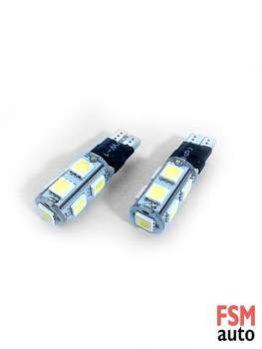 T10 9 SMD LED Çakarlı Park Ampülü / W5W