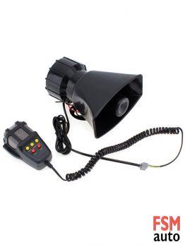 5 Sesli Megafonlu Siren Polis, Ambulans, İtfaiye Uyarı Sesleri