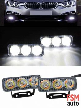 Sinyalli Gündüz LED'i 3 CREE DRL