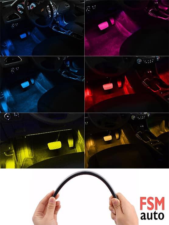 araç içi atmosfer ışığı