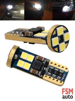 Waxen T10 Canbus 12 LED / W5W LED Ampul