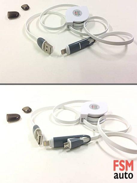 andorid ve ios şarj data kablosu