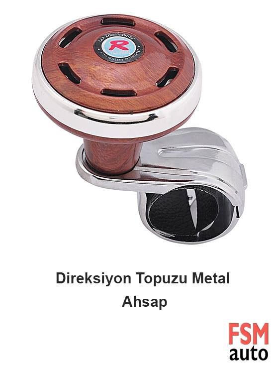 Metal ahşap direksiyon topuzu