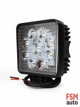 LED Kare Çalışma Lambası (Off-Road Sis Lambası)