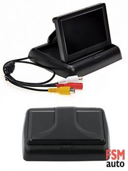 TFT LCD Katlanabilir Ekranlı Geri Görüş Kamerası (FULL SET)