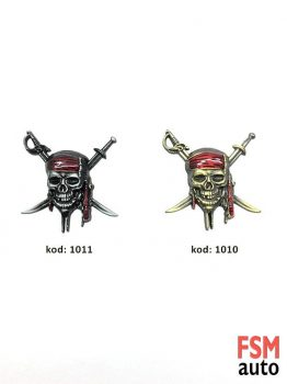 Korsan Kurukafa Metal Arma