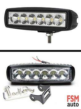 6 led off road sis lambası