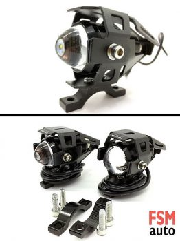 3 Mod LED Motosiklet Çakar Sis Farı
