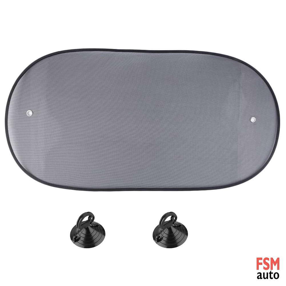 araç içi arka cam perdesi siyah