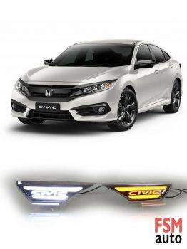 Honda Civic FC5 Yan Çamurluk Sinyalli Gündüz Ledi