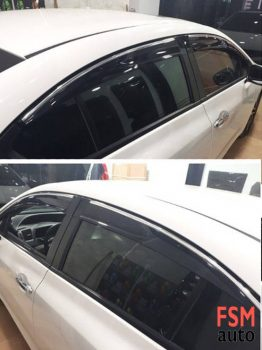 Honda Civic 2012 - 2016 Arası Kromlu Cam Rüzgarlığı