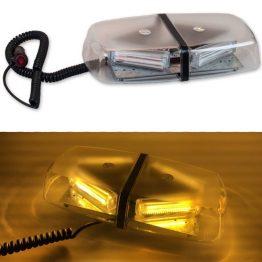 Tepe Lambası Çakarlı Sarı COB LED