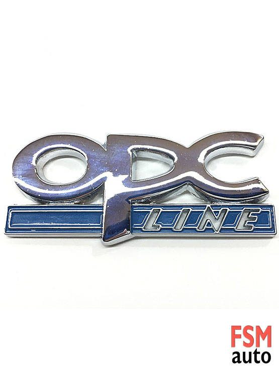 opel opc line yazılı metal arma