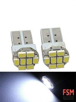 T10 8 LED'li Kısa Tip Ampul