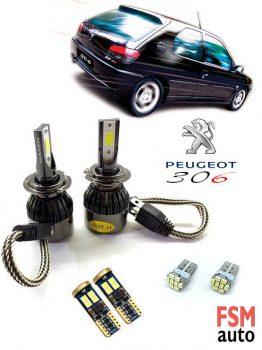 Peugeot 306 (1993 - 2002 Arası) LED Ampul Paketi