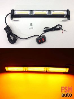 3 COB LED Sarı Çakarlı LED Bar