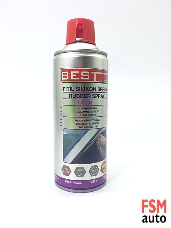 fitik silikon sprey temizlik ve korumak için