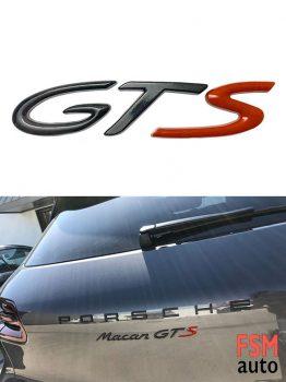 3D GTS Metal Yazı 3M Çift Taraflı Bant Yapıştırmalı