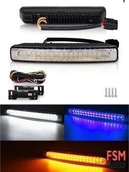 54 LED Kayar Sinyalli 3 Renk Gündüz LEDİ