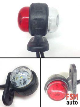 LED Mini Takoz Lamba Kırmızı Beyaz Işık