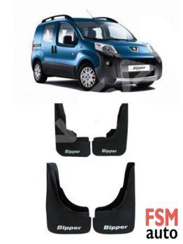 Peugeot Bipper Tozluk Paçalık Çamurluk 4 lü Set - Ön Arka Takım