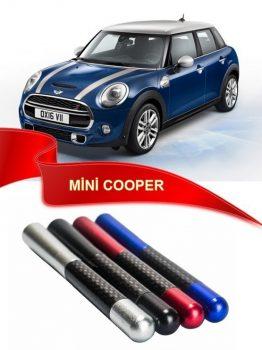 Mini Cooper Uyumlu Karbon Desenli Çubuk Metal Radio Anteni