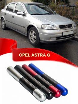 Opel Astra G Uyumlu Karbon Desenli Çubuk Metal Radio Anteni