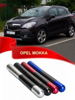 Opel Mokka Uyumlu Karbon Desenli Metal Çubuk Radio Anteni