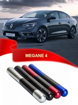 Renault Megane 4 Uyumlu Karbon Desenli Çubuk Metal Radio Anteni