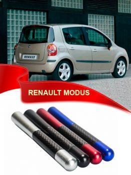 Renault Modus Uyumlu Karbon Desenli Çubuk Metal Radio Anteni