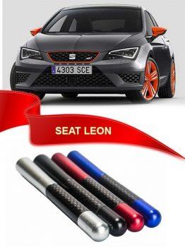 Seat Leon Uyumlu Karbon Desenli Çubuk Metal Radio Anteni