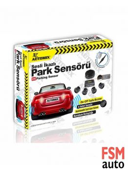 Automix Ses İkazlı Oto Park Sensörü Seti Buzzer