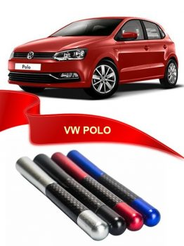 VW Polo Uyumlu Karbon Desenli Çubuk Metal Radio Anteni