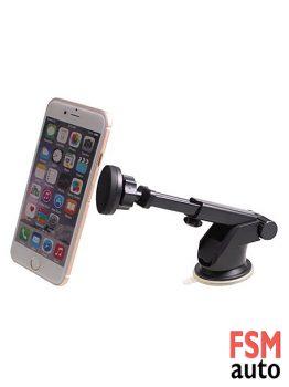 Vinç Tip Tek Dokunuş Mıknatıslı Araç İçi Telefon Tutucu