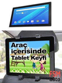 Oto Koltuk Arkası Tablet Tutucu Tablet Tutucu Kafalık Tipi