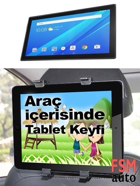 oto tablet tutucu koltuk arkası seyehat ürünleri fsmauto