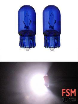 T10 Dipsiz Halojen Ampul Beyaz Işık 12 Volt - W5W
