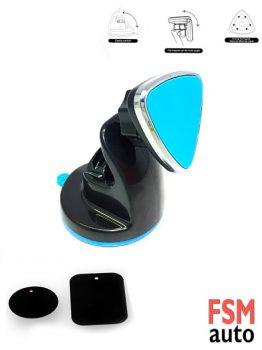 Vantuzlu Üçgen Tip Araç Telefon Tutucu Magnet