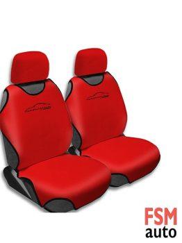 FSMauto Koltuk Atlet Kılıfı 2 Parça Kırmızı