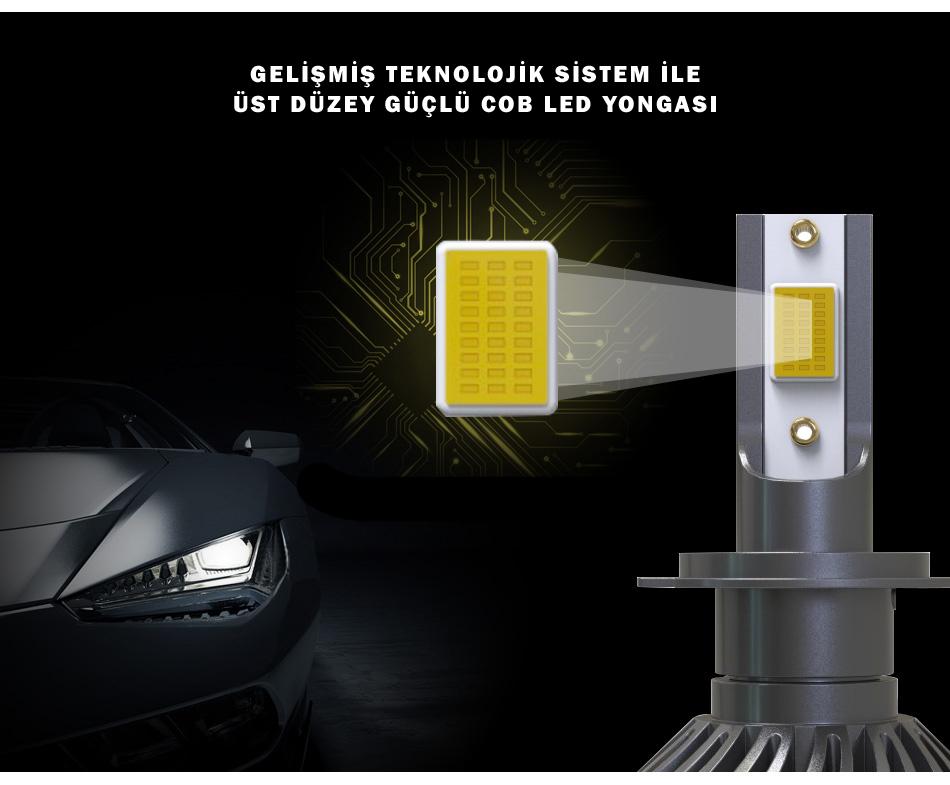 cob led v8 led xenon fsmauto