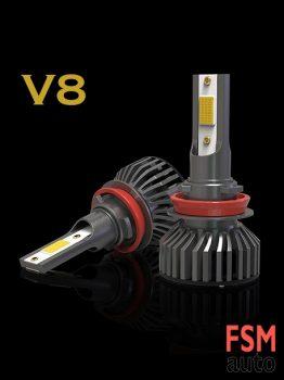 V8 Led Zenon Serisi H1,H4,H7,H11 Led Xenon