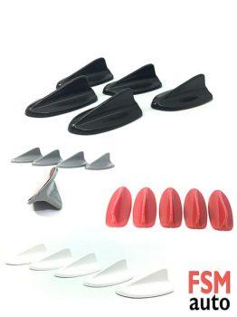 Mini 5 li Shark Anten Seti Balık Süs Anteni
