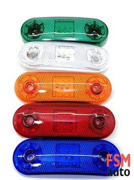 Dorse Lambası 12 - 24 Volt Yan Etek Lambaları Renk Seçenekli