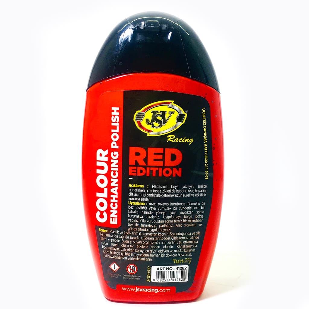 fsmauto jsv kırmızı renkli oto kaporta cilası