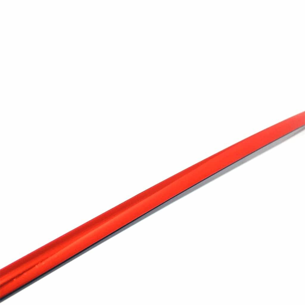 parlak kırmızı şerit çıta