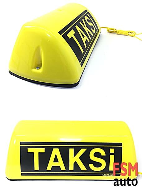 taksi levhası mıknatıslı sarı renk