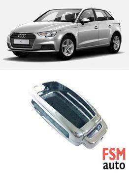 Audi A1 A3 A4 A6 Q1 Q3 Uyumlu Metal Anahtar Kabı