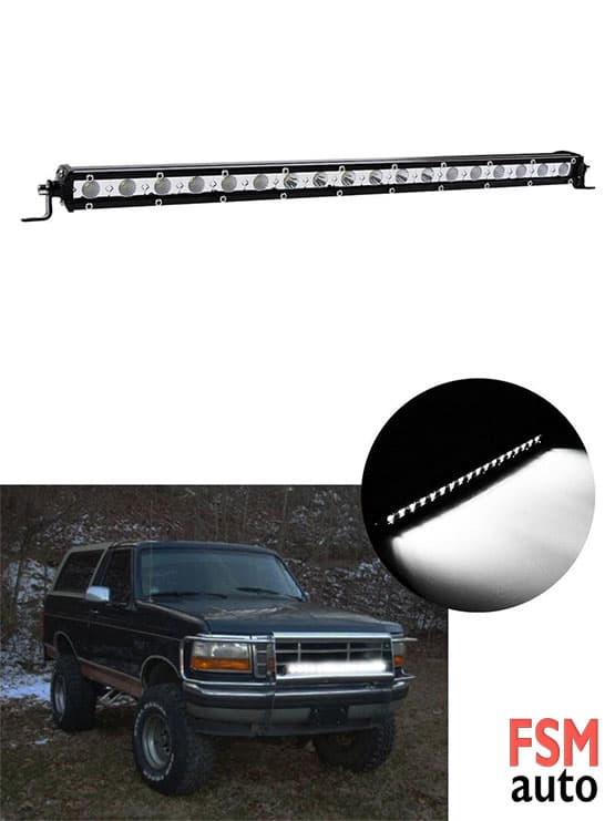 18 led 54 watt led bar