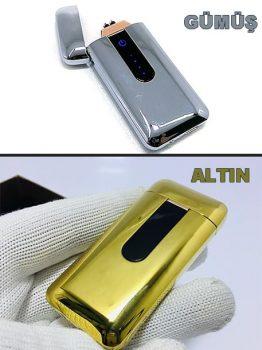 SM USB Girişli Şarjlı Çakmak Hediye Kutulu 913