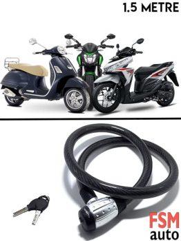 Kalın Motosiklet Kilidi Kesilmeyen Motosiklet Kilit